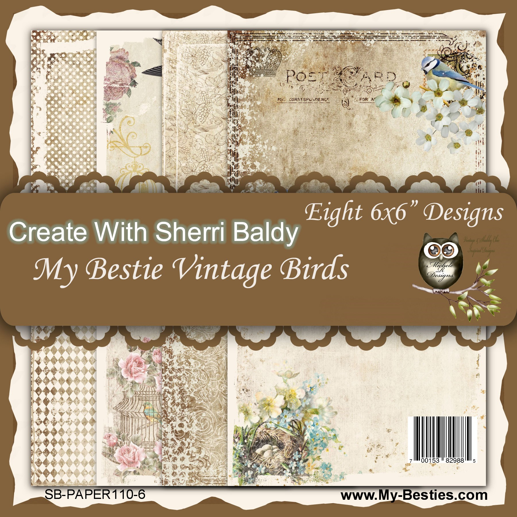 Image result for my besties vintage birds paper